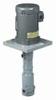 OL125VPF-C2.0 - Immersed vertical centrifugal pump; PVDF 80 GPM, 2 hp -- GO-70611-43
