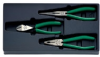 6706 - Set with 3 pliers, polished -- 96650008