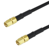 SMA Male to SMA Male Cable LMR-200-FR Coax in 24 Inch -- FMC0202202-24 -Image