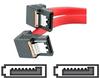 StarTech.com Right Angle Latching SATA Serial ATA Cable -- LSATA18RA2