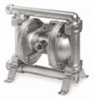 ATEX Approved Air-Powered Double-Diaphragm SS Pump, Santoprene; 106 GPM -- GO-74016-31