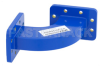 WR-137 Commercial Grade Waveguide H-Bend with CPR-137G Flange Operating from 5.85 GHz to 8.2 GHz -- PE-W137B004 - Image