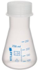 Dynalon Polypropylene Erlenmeyer Flask, with Screw Cap - Image