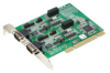2-port RS-232/Current-loop Universal PCI Communication Card with Isolation Protection -- PCI-1603-BE