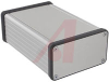 Enclosure; Extruded Aluminum; Plastic; 0.06 in.; Clear Anodized -- 70166714