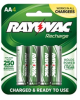 Ready-to-use Low Self Discharge NiMH Carded AA-4 Pack -- LD715-4OPA -- View Larger Image