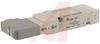Solenoid Valve, 5 port, 2 posit double,24VDC, ind. light, surge suppr -- 70070819 - Image