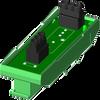 1 channel backpanel (DIN) -- SCM7BP01-DIN -Image