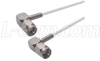 RG188 Coaxial Cable, SMA 90º Male / 90º Male, 3.0 ft -- CCSR188A-3 -Image