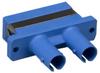 ST to SC Mulitmolded Duplex Adapter Plastic Body -- 31FP-02STSC-2