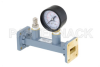 WR-75 Waveguide Pressurizing Section 4.25 Inch Length, Square Cover Flange from 10 GHz to 15 GHz -- PEWSP1006 - Image