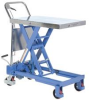 Hydraulic Elevating Cart -- HCART-750-TS -- View Larger Image