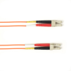 10m (32.8ft) LCLC OR OM1 MM Fiber Patch Cable INDR Zip OFNP -- FOCMP62-010M-LCLC-OR - Image