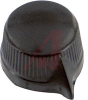 Knob; Phenolic; 1/4 in. (Shaft); 11/32 in.; 8-32 -- 70097803