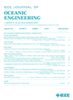 Oceanic Engineering, IEEE Journal of -- 0364-9059
