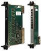 6U CPCI 8-port 10/100 Tx Ethernet NIC -- 7478G - Image