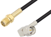 SMA Female to SMA Male Right Angle Cable 60 Inch Length Using RG174 Coax -- PE3W03981-60 -Image