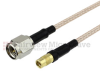 SMA Male to MMCX Jack Cable RG-316 Coax in 12 Inch and RoHS Compliant -- FMC0224315LF-12 -Image