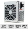 DiabloTek PSDA300 DA Series ATX Power Supply - 300W, 120mm F -- PSDA300
