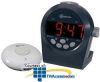 Amplicom TCL200 Digital Alarm Clock with Wireless.. -- TCL200