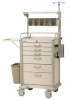 Anesthesia Cart,Lt Taupe,H 45 x W 30 -- MBP3210ANES2