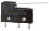 SM Series Subminiature Basic Switch, Single Pole Double Throw (SPDT), 250 Vac, 5 A, Straight Lever Actuator, Quick Connect Termination -- 311SM2-H58