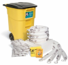 PIG Oil-Only Spill Kit in High-Visibility Mobile Container -- KIT469 -Image