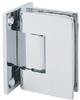 Shower Door Hinge, Glass to Wall -- 755002