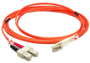 10m LC-SC Duplex Multimode 50/125 Fiber Optic Cable (32.8ft) -- 30LC-SC10 - Image