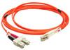 3m LC-SC Duplex Multimode 50/125 Fiber Optic Cable (9.84ft) -- 30LC-SC03