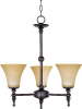 21323JFBG Mid. Chandeliers-Glass Up -- 489203