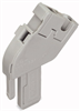 1-conductor base module; angled; with integrated end plate; codable; 1-pole -- 769-512 - Image