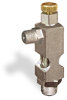 "(Formerly B1628-2X00), Angle Small Sight Feed Valve, 1/8"" Male NPT Inlet, 1/8"" Male NPT Outlet, Handwheel -- B1628-122B1HW -Image"
