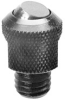 Threaded Rest Pad with Self-Aligning Ball: 3/8-16 Thread x 1.00 Height -- 56402
