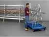 VESTIL Mobile Horizontal Bar Rack -- 7305900