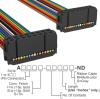 Rectangular Cable Assemblies -- A3AAH-1606M-ND -Image