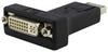 DisplayPort Male to DVI Female (DVI-I 24+5) Converter Adapter Dual Link -- AD-DPDVI-MF