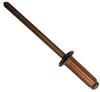 Dome Head Rivets - Copper - Bronze Mandrel -- Dome Head Rivets - Copper - Bronze Mandrel