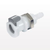 Coupling Insert, In-Line Hose Barb, Shut Off -- APC16004 -Image