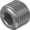 Blanking plug -- B-1/4-NPT -Image