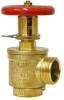 "112-F105 - 1-1/2"" Restricting Fire Hose Valve (FNPT x NH) -- View Larger Image"