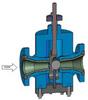 Flanged Abrasive Service Control Valves -- DFT® Ultra-Trol®