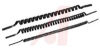 Tubing, coiled, black, 4mm, 2 tubes -- 70071297
