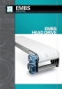 Head Drive Mat Top Conveyor, Stainless Steel -- Model EMBS