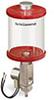 Red Color Key, Clear View Full Flow Electro Dispenser, 1 pt Pyrex Reservoir, 24VDC -- B5164-016PB024DRW -- View Larger Image