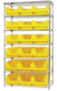 Bins & Systems - MAGNUM Bins (QMS Series) - Wire Shelving Units - WR7-532