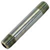Zinc Pipe Nipple 3 x 3/8 MPT -- VM-142804