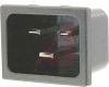 Inlet, Power; Snap In Mount; 125/250 V;16 A @ 250, 20 A @ 125 V; PC 241R -- 70132878