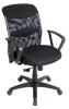 ALVIN CH726 SALAMBRO MESH MANAGERS CHAIR BLK -- W24545