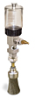 """(Formerly B1745-2X-1SS), Manual Chain Lubricator, 2 1/2 oz Polycarbonate Reservoir, 1"""" Round Brush Stainless Steel -- B1745-002B1SR3W -- View Larger Image"""